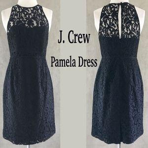 Cotton Blend Black Leavers Lace PAMELA Dress SP 14
